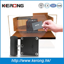 Customized password rfid card special design electric cabinet lock