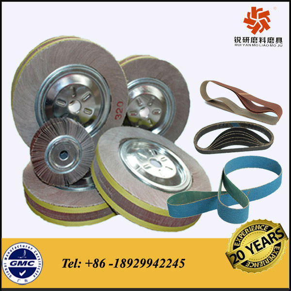 Stainless Steel Polishing Material &Custom Made Abrasive Flap Wheel