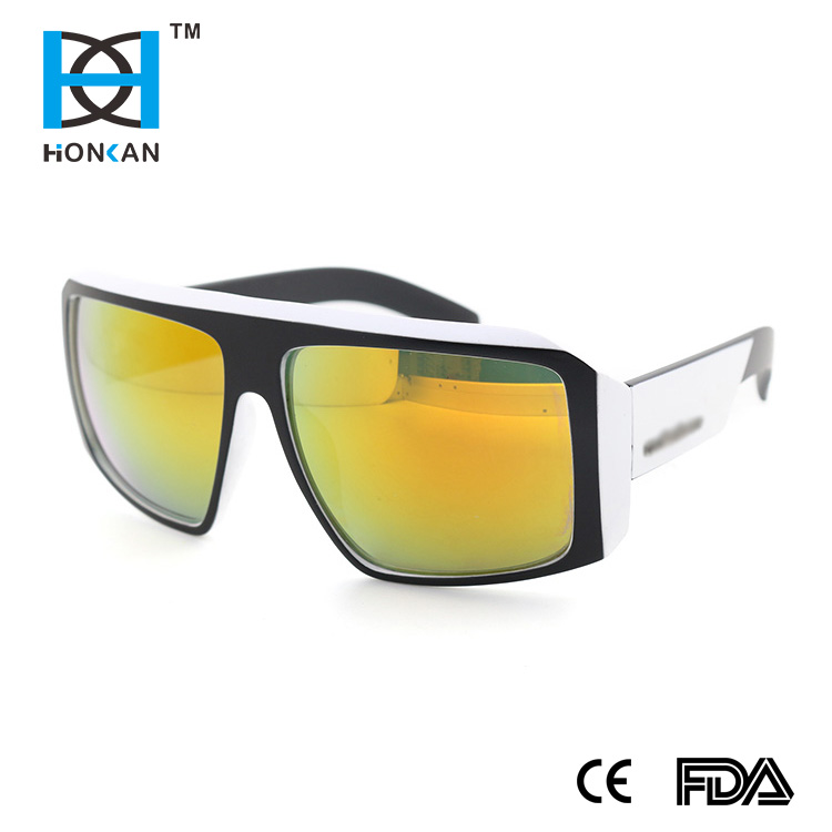 New Products Trendy Colorful Mirror Private Label Wholesale Fashion Sunglasses