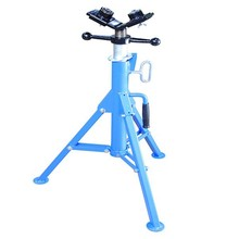 1107A adjustable ball head pipe stand/ pipe roller stands