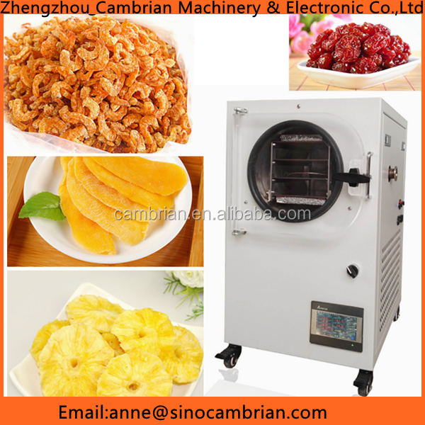 Best selling popular industrial food freeze dryer with high speed