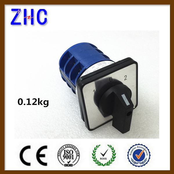 32A 1-0-2 3P China manufacture professional 3 position rotary switch