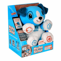 2015 hottest intelligence talking dog stuffed toys,battery operated singing dog musical plush toy for kids