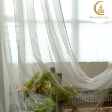 curtains for living room modern window curtain fashion sheer organza curtains