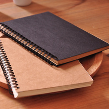 N693 Alibaba website factory direct sale kraft notebook,europe type kraft paper blank notebook,eco recycled kraft paper