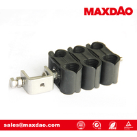 stainless steel double cable clamp