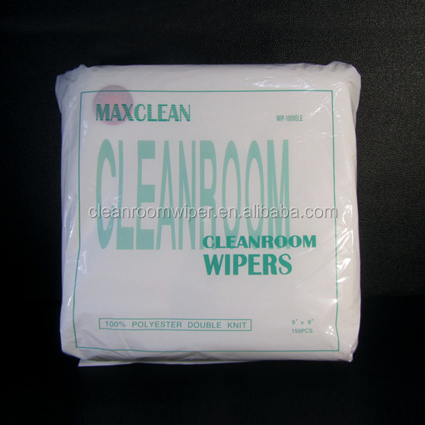 120gsm double kintted cleanroom polyester wiper