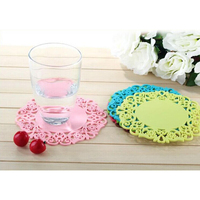 Tabletex wholesale Eco-Friendly cup coasters for kitchen silicone cupmat coster