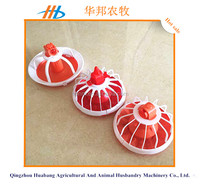 hot sale chicken farming equipment plastic poultry feeder pan for chicken and duck
