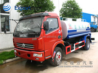 Dongfeng DLK used water tank truck, 6-8ton sprinkle vehicle