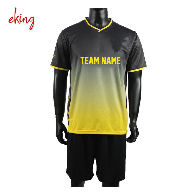 Custom top quality oem soccer jersey design sublimated soccer jersey