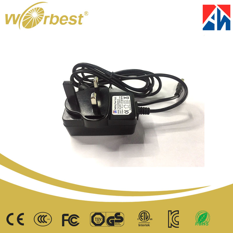 China Alibaba 9V 2A Class 2 Power Supply Adapter CE ROHS Approved