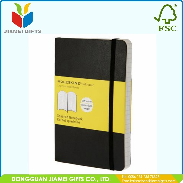 Wholesale a4/a5/a6 blank leather notepad with custom logo