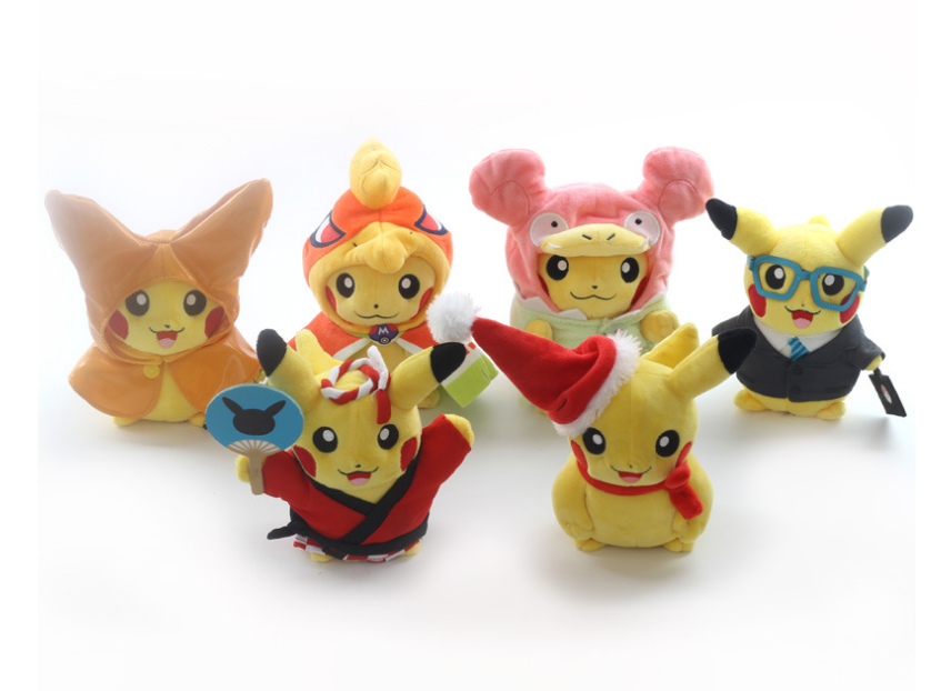 New design high quality wholesale pokemon plush, Pikachu plush toys