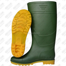 pvc transparent rain boots with custom logo