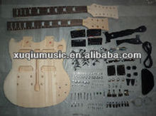 SNGK012 Basswood Guitar Kits with Double Neck