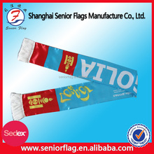 Custom Promotional Satin Sports Fan Scarf