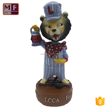 [OEM SUPPLIER] Newest Personalized Resin Cartoon Character Bobble Head as Promotion