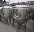 beer fermenter for sale, large beer brewery equipment, dimple cooling jacket fermenter