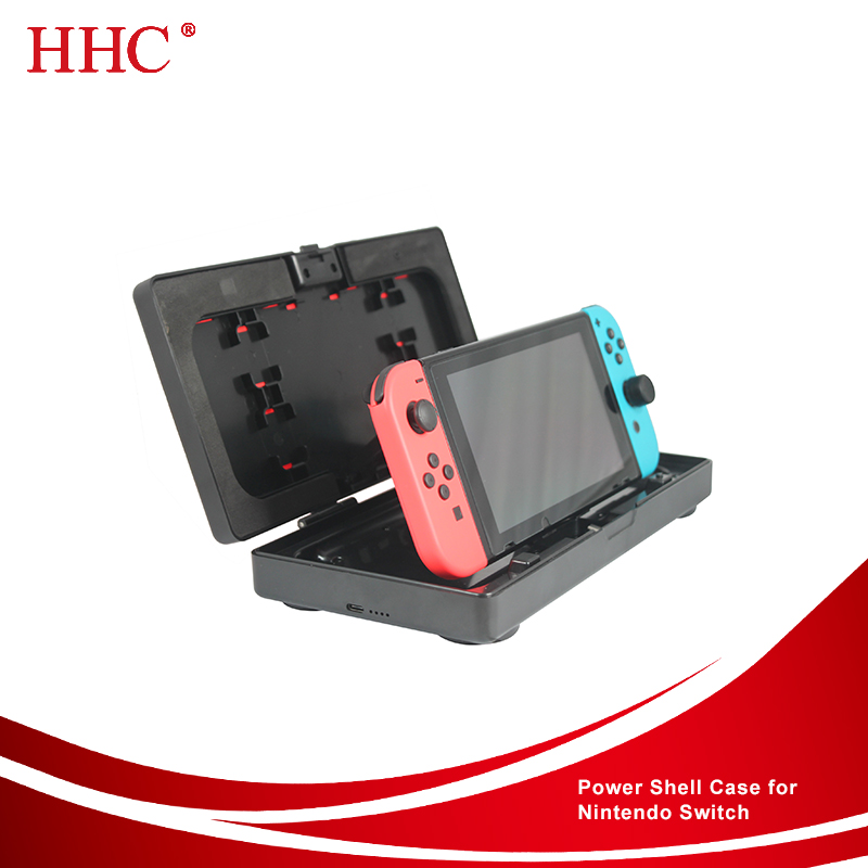 Replaceable Faceplate Power Shell Case for Nintendo Switch