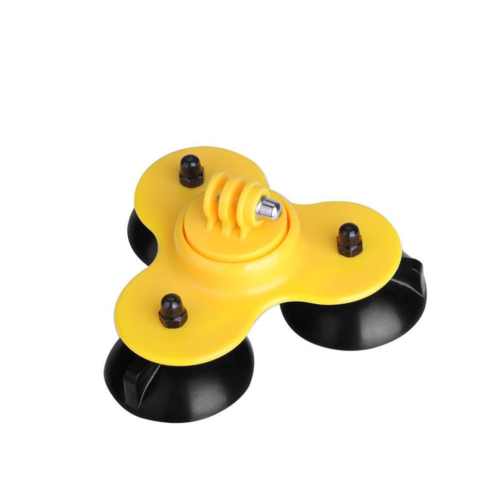 JGJ OEM Manufacture Removable for Gopro Suction Cup Mount for Gopro Hero 4s 4 3+ 3/2/1