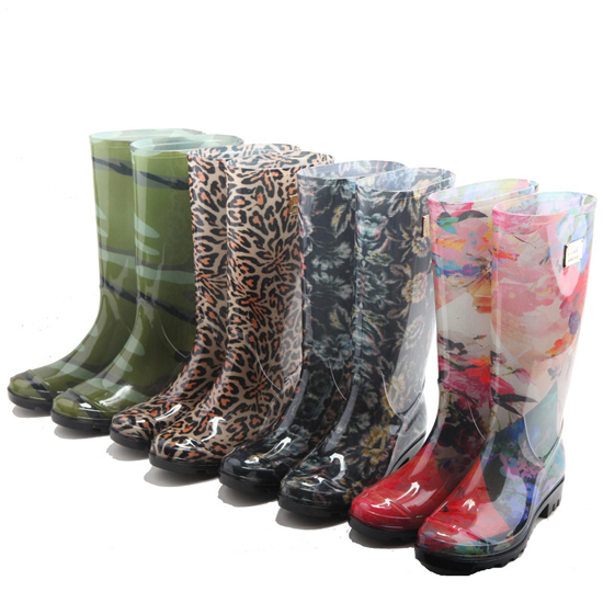 2016 New Design Fashionable PVC Gum Boots