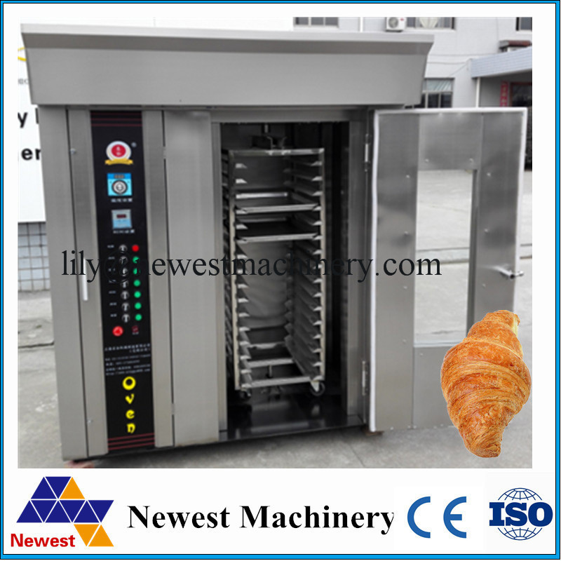 Professional hot air food baking rotary oven industrial bread baking rotary oven