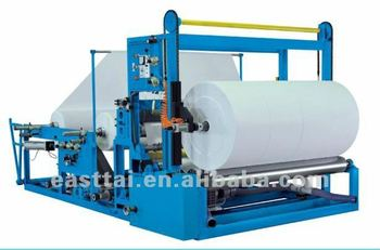 Tissue paper Rolls Slitting and Rewinding Paper machine