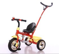 Factory direct sale baby tricycle bike with handle bar and big folding pedal for high quality