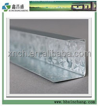 Furring channel track for ceiling system