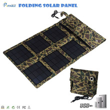 fully waterproof 24W foldable solar panel charger for bigger voltage laptop for traveling/camping/hiking