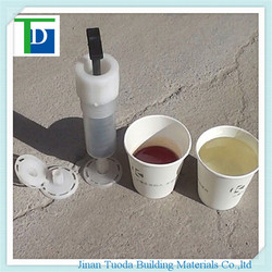 TD-ERM3 pouring crack epoxy resin glue for repairing concrete wall and beam crack