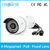 Reolink Security Cameras Fixed Lens Onvif DIY PoE Bullet Cams RLC-410