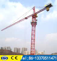 HOT SALE Luffing jib tower crane D160 5030 12T