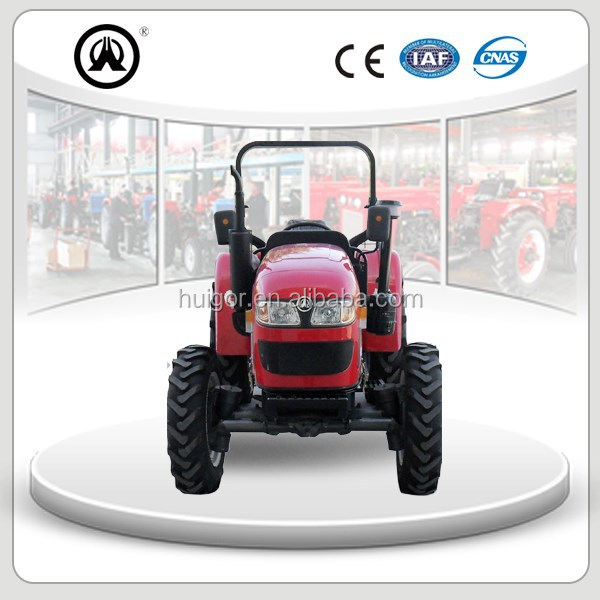 50HP wheel farming tractor TB504 mini tractor 4WD with CE certificate