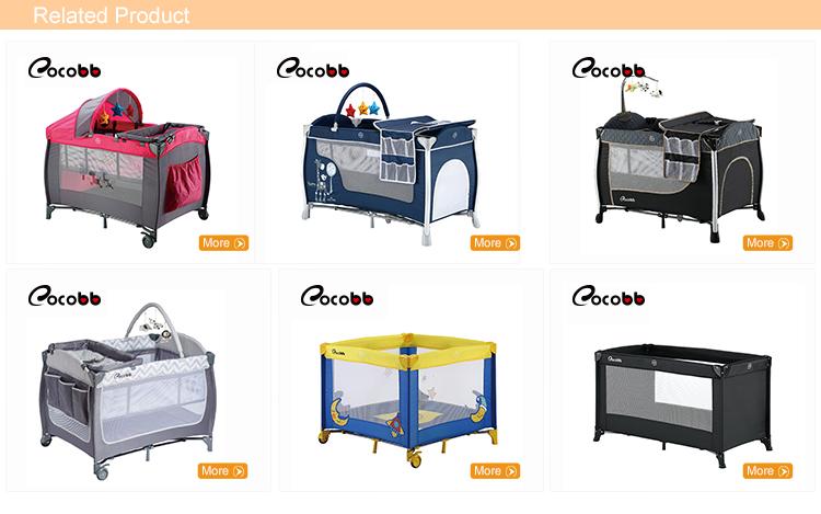 En716 Certification Portable Foldable Baby Playpen Basic Baby Travel