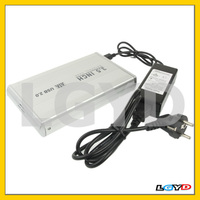 3.5 inch HDD SATA External Case With 2.0A Power, Support USB 2.0