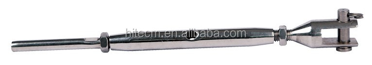 stainless steel wire rope terminal fork