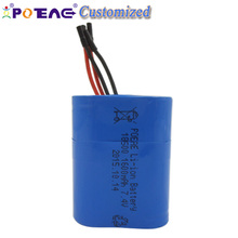 Factory Li-ion type and 7.4v 1600mah 18500 battery for flashlight