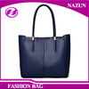 top sale high quality office lady style leather women tote bag from guangzhou factory