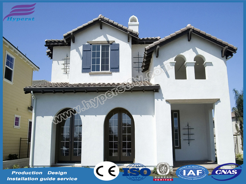 China modern European style villa prefab kit house modular home villa