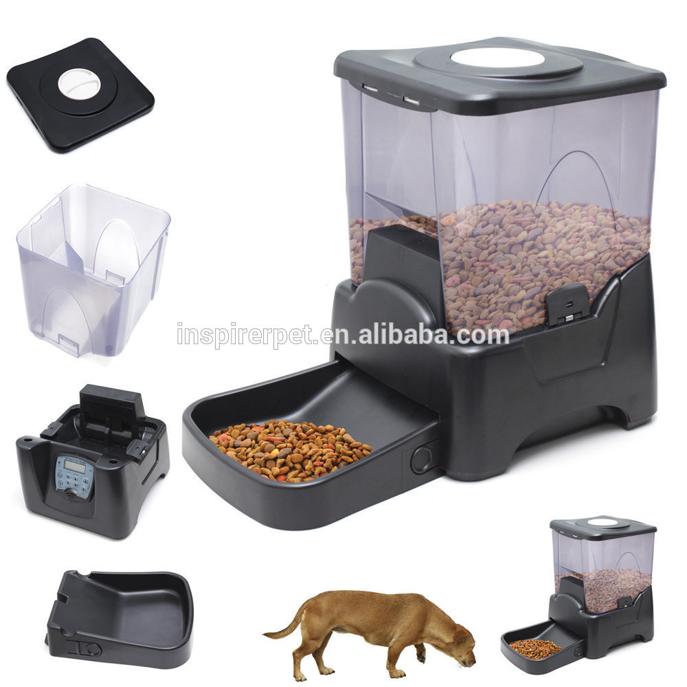 Automatic Food Dispenser For Large Dogs