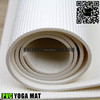 Non-toxic 6p free PVC custom print eco oem yoga mats white color carrying strap