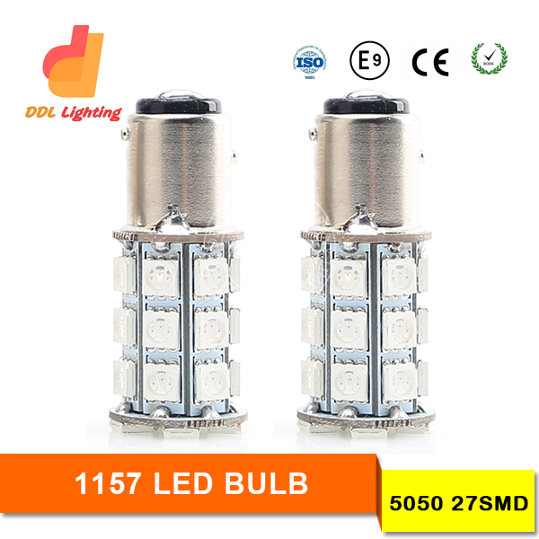 led braking light LED car headlight lamp bulb S25 1156 1157 18smd / 27smd/13smd 5050 car led light