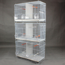 powder coated 3 layers small parrot cage canary bird cage A16-3