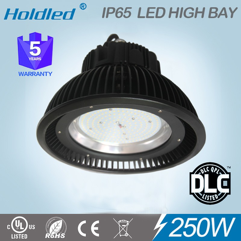 led linear high bay light UFO 250w SMD LED High Bay UL No.E487785 and DLC listed