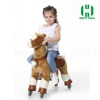 2016 Hot sale CE walking toy horse for kids,big toy horses for sale,large toy horse