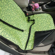 Bistratal waterproof pet vest car seat cover with pothook car seat protection from scratch