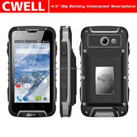 SUPPU F605 GSM 3G WCDMA IP67 Waterproof Rugged Smartphone 4.5 inch touch screen Android 4.4 battery phone