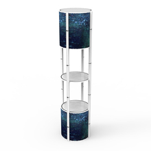 Folding Promotion Spiral Twister Tower Stand Counter Display